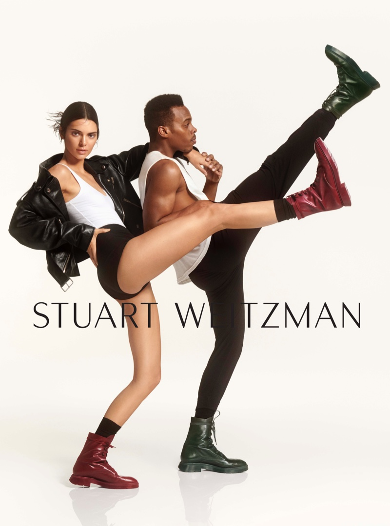 Kendall Jenner Joins Dancer Lil Buck In Stuart Weitzman's #SWSTRENGTH Fall 2019 Campaign