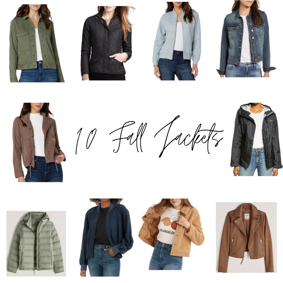 10 Fall Jackets