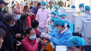 Covid vaccination figure in China crosses one billion