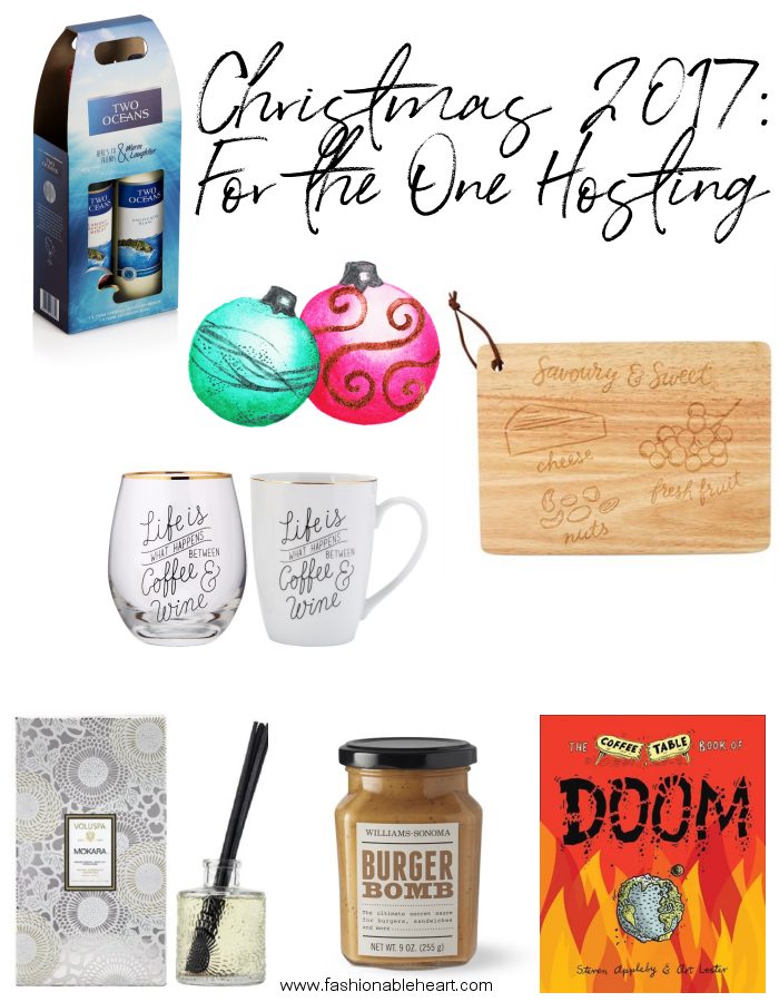 bblogger, bbloggersca, canadian beauty bloggers, beauty blog, lifestyle blogger, host, hostess gifts, chapters, chapters indigo, williams-sonoma, gift guide, gift ideas, mugs, wine, two oceans wines, cheese board, reed diffuser, sauces, cooking, coffee table book