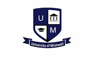 https://umw.edu.pk - University of Mianwali Jobs 2021 in Pakistan