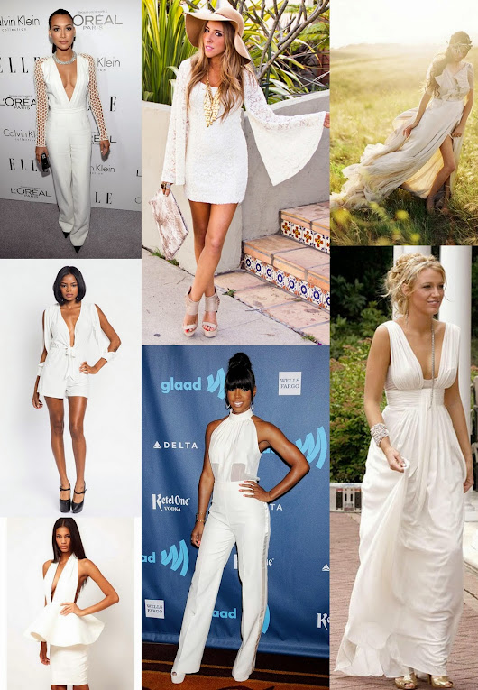 Inspiration || All In White