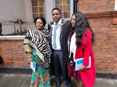 Gov. Rochas Okorocha's First Son Afamefula Bags Masters Degree From Imperial College London 4