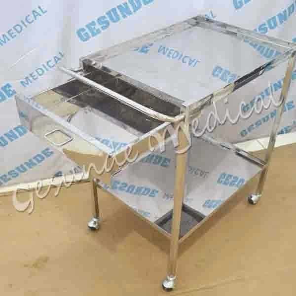 alamat distributor meja instrumen trolley 2 susun