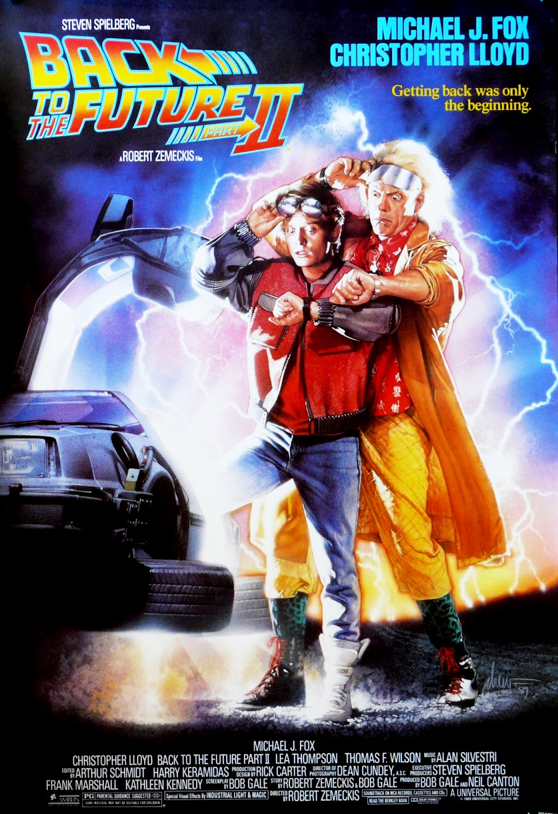 The Geeky Nerfherder: Movie Poster Art: Back To The Future ...