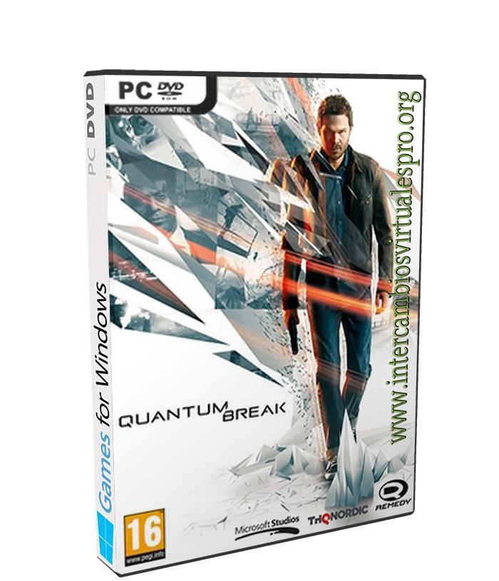 Quantum Break poster box cover