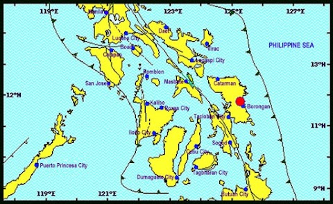 Updates: Magnitude 6.5 Earthquake shook Eastern Samar, Leyte and Cebu