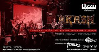 Concierto de AKASH en Bogotá
