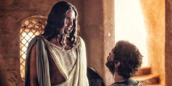 Jesus de Nazareth con discípulo