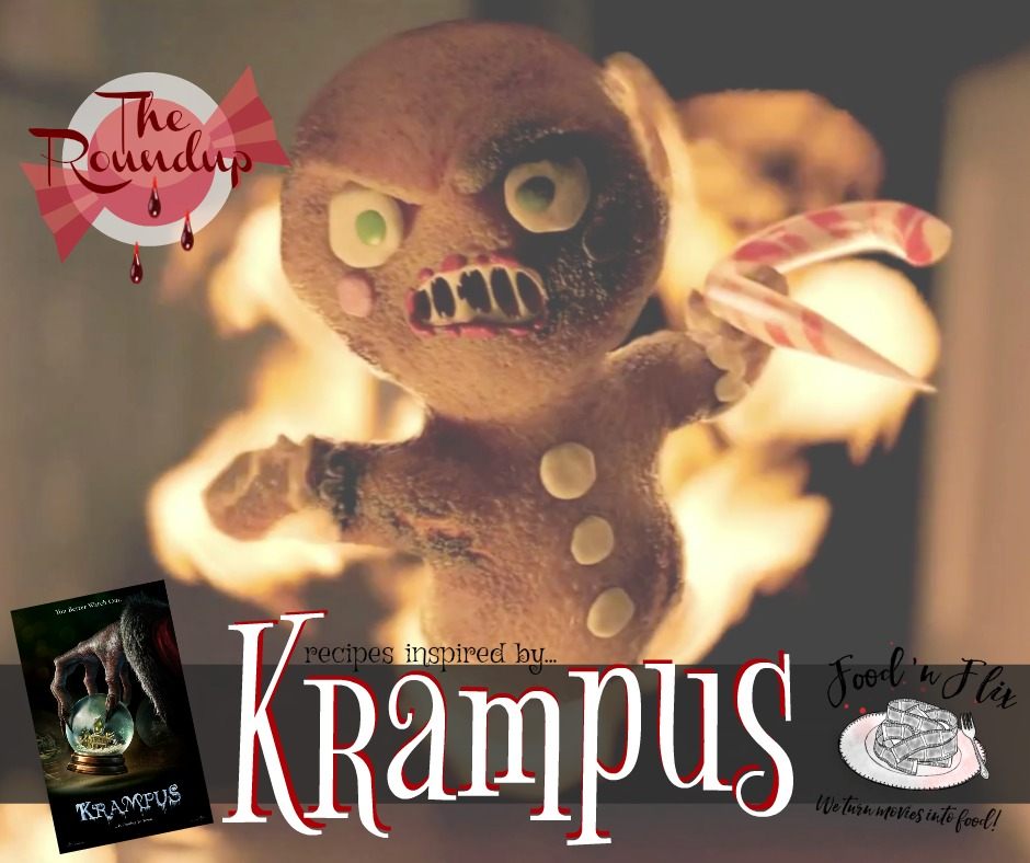 Recipes inspired by the movie Krampus | #FoodnFlix