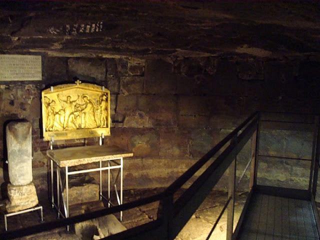 Prisão São Pedro em Roma na Itália