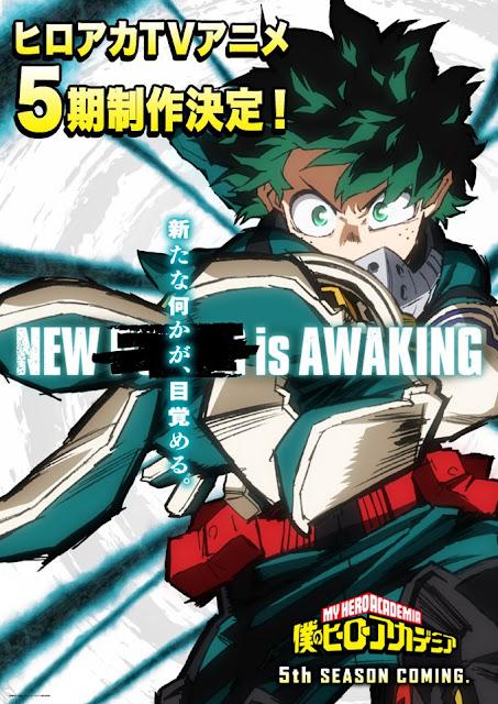 Visual Boku no Hero Academia Season 5