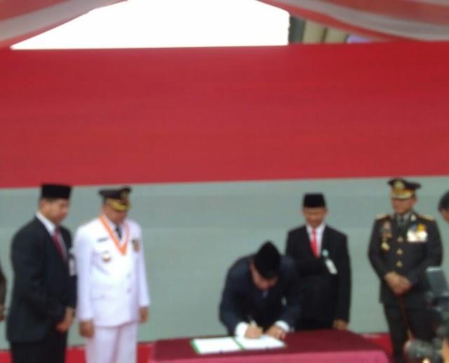 DI HUT RI,  Pemkab Tangerang  Berinovasi Bayar PBB lewat E-Commerce