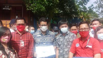 Menteri Sandiaga Uno Kunjungi KEK Pariwisata Likupang Timur