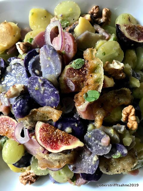Herbstlicher Kartoffelsalat