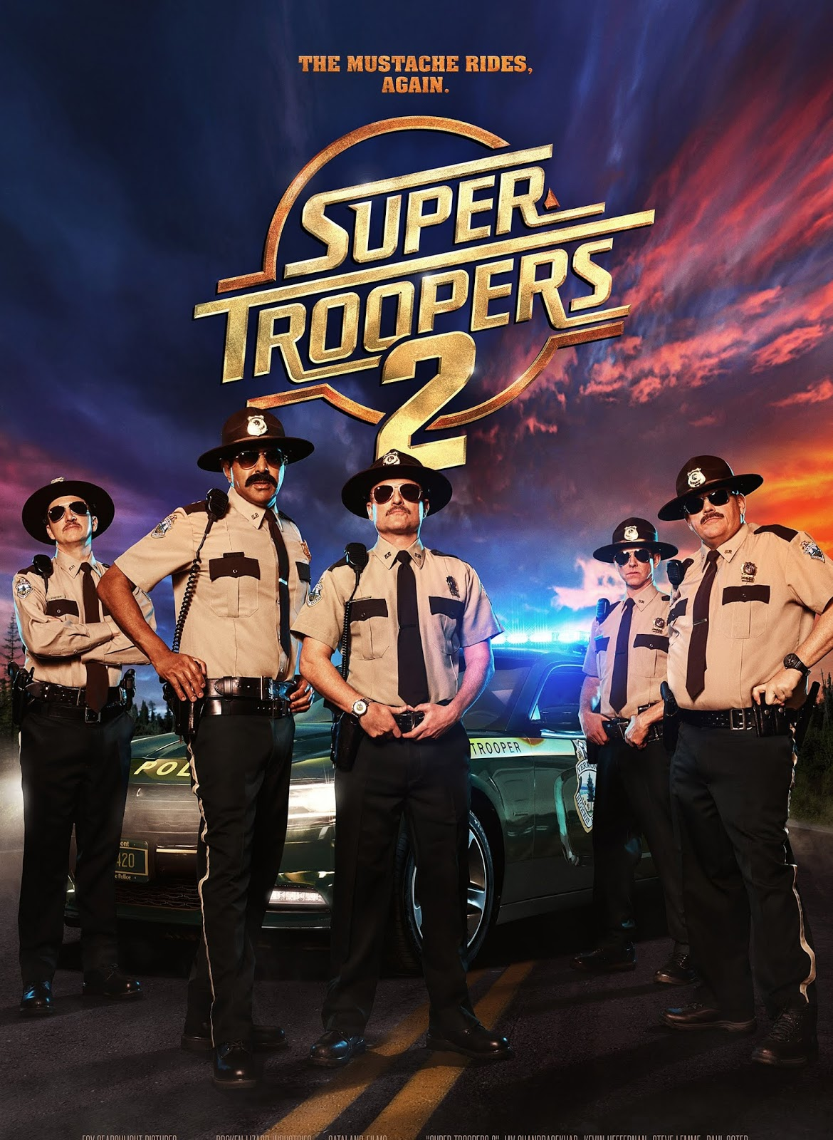 Super Troopers 2 [2018] [DVDR] [NTSC] [CUSTOM HD] [Latino]