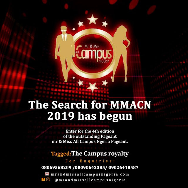 MR AND MISS ALL CAMPUS NIGERIA