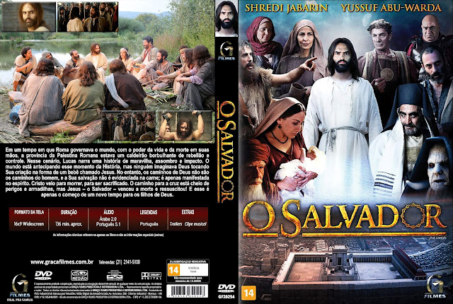 Capa DVD O Salvador [Exclusiva]