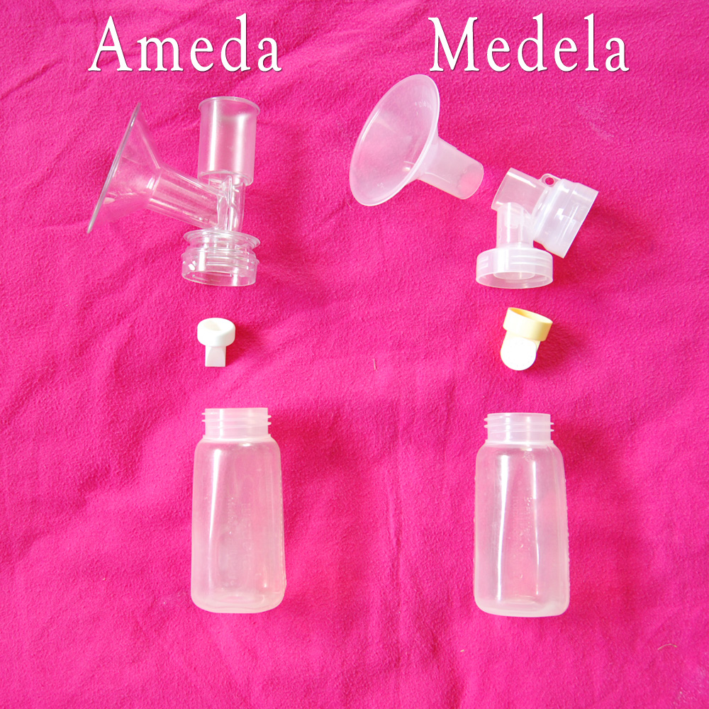 Stand and Deliver: Review of Ameda & Medela breast pumps