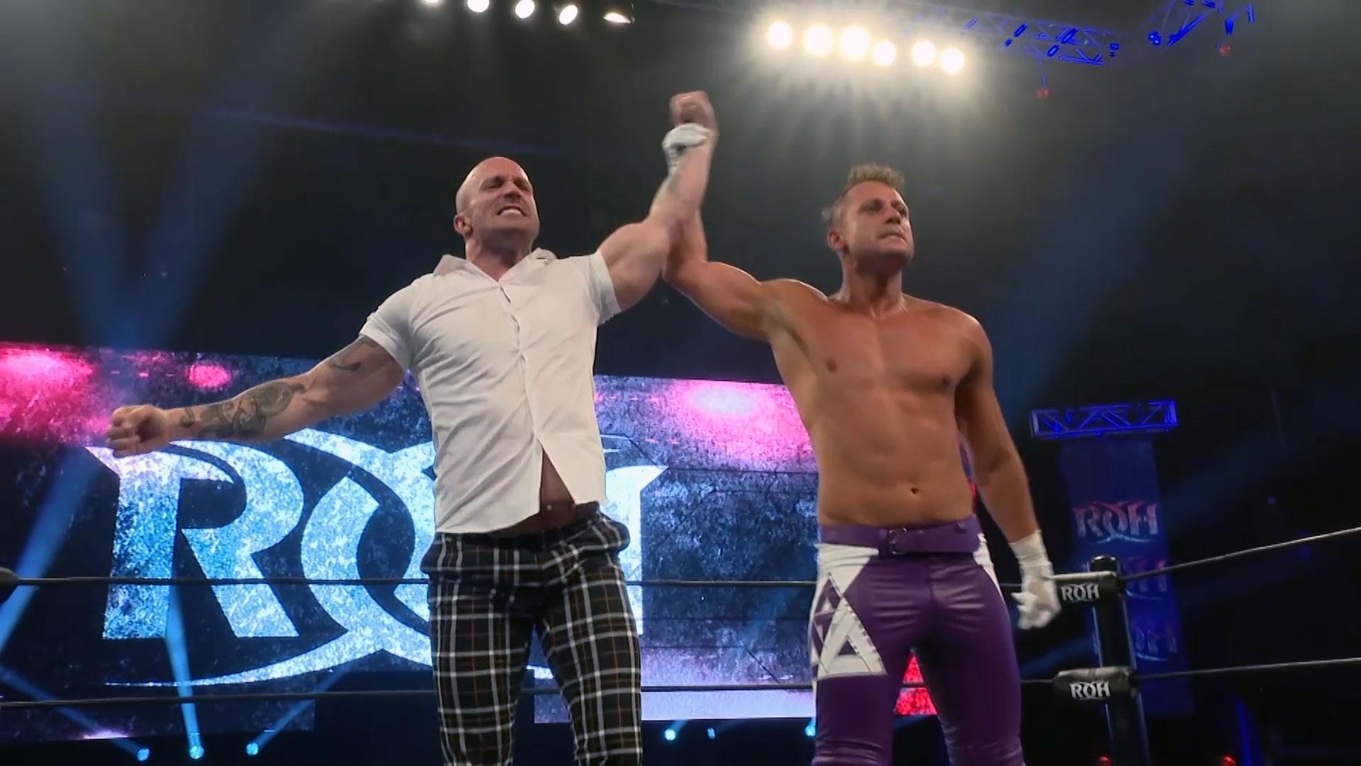 Mike Bennett retorna à ROH