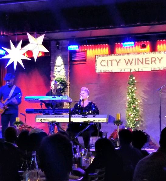 Avery Sunshine Singing at CityWinery ATL