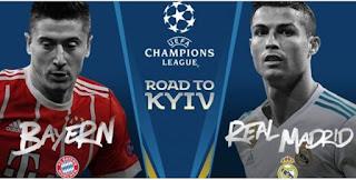 مشاهدة مباراة بايرن ميونخ و ريال مدريد ذهاب نصف نهائي دوري أبطال أوروبا 25-04-2018