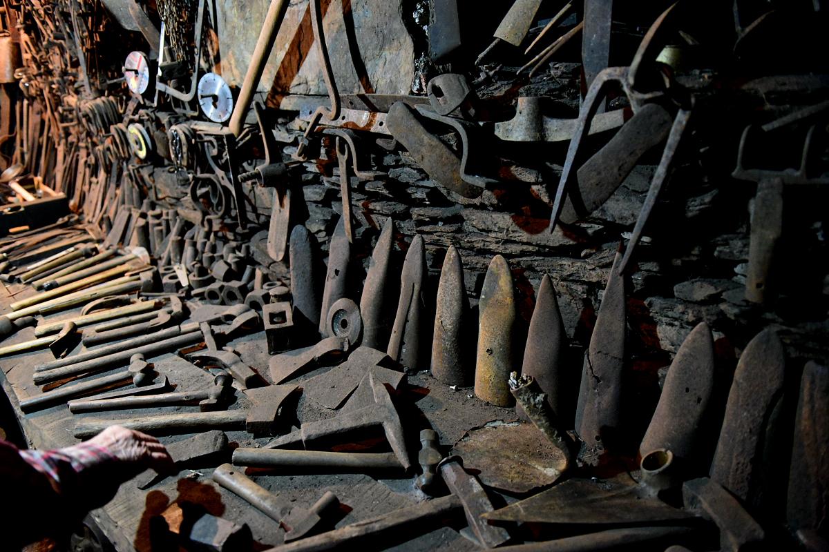O Courel foto a foto: La fragua de Xan do Ferreiro