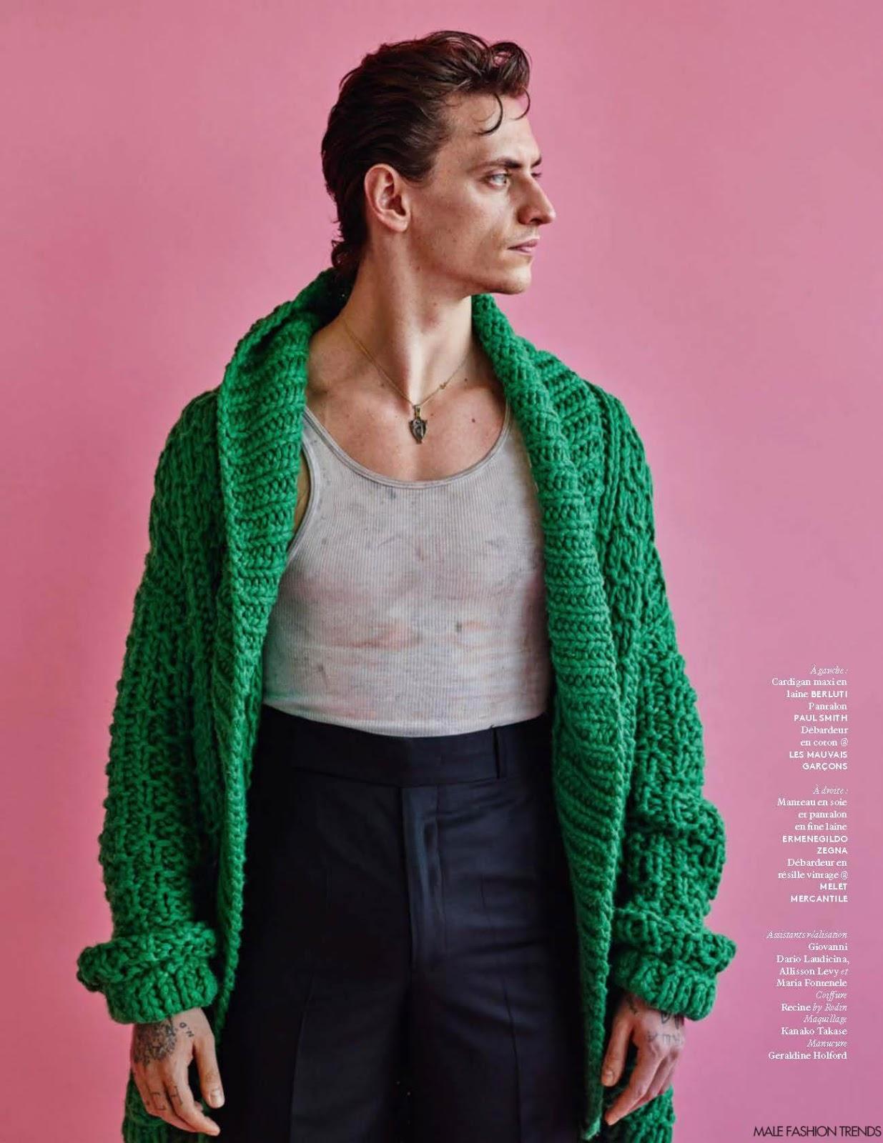 Sergei Polunin para Vogue Hommes Spring/Summer 2016 por ...