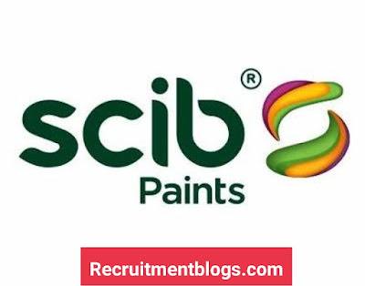 Tendering Coordinator at SCIB Paints Company
