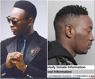 Nigerian Singer, Dammy Krane Arested Today In Miami, See What He Did
