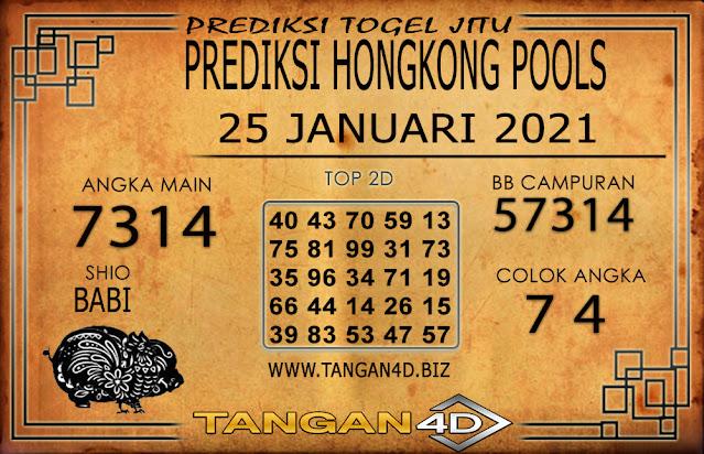 PREDIKSI TOGEL HONGKONG TANGAN4D 25 JANUARI 2021