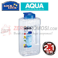 Lock & Lock HAP736 WATER BOTTLE PET 1.2L