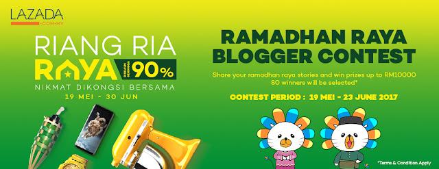 Lazada Blogger Contest