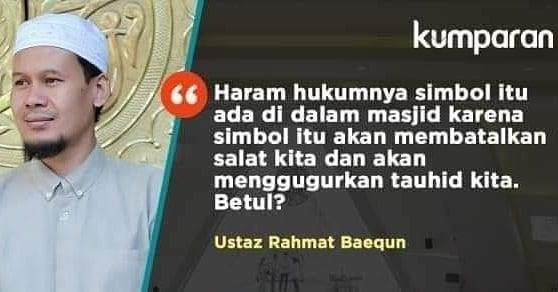 Meluruskan Rahmat Baequni yang Sebut Simbol dalam Masjid Al Safar dapat Batalkan Shalat