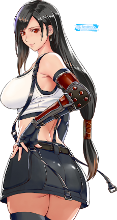 Final Fantasy VII - Tifa Lockhart Render 45