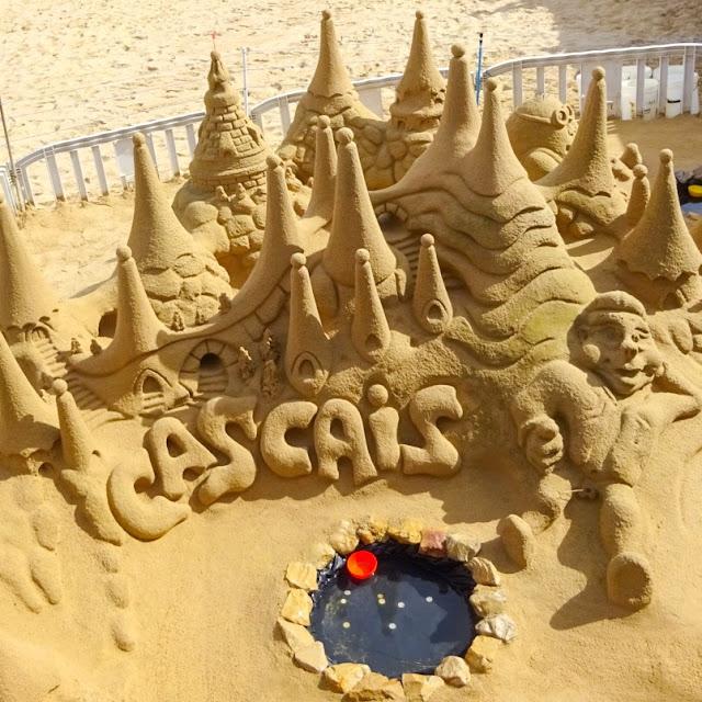 Cascais Sand Sculpture