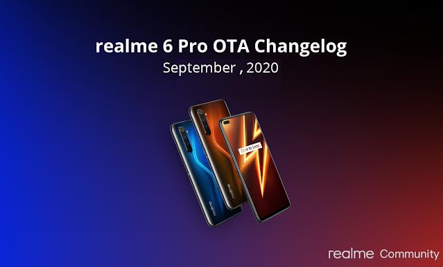 realme 6 pro update
