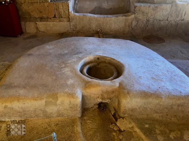 Triclinium de la villa romana de El Ruedo