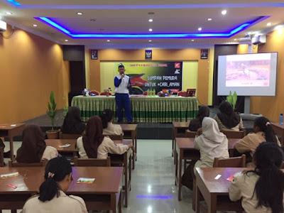 Edukasi Safety Riding di SMA-SMA di Kota Batam