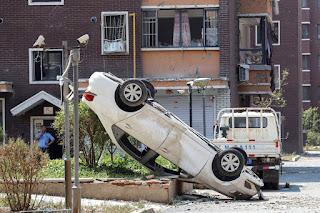 O tornado feriu mais de 190 pessoas, anunciou o Bureau de Segurança Pública da cidade na rede social Weibo