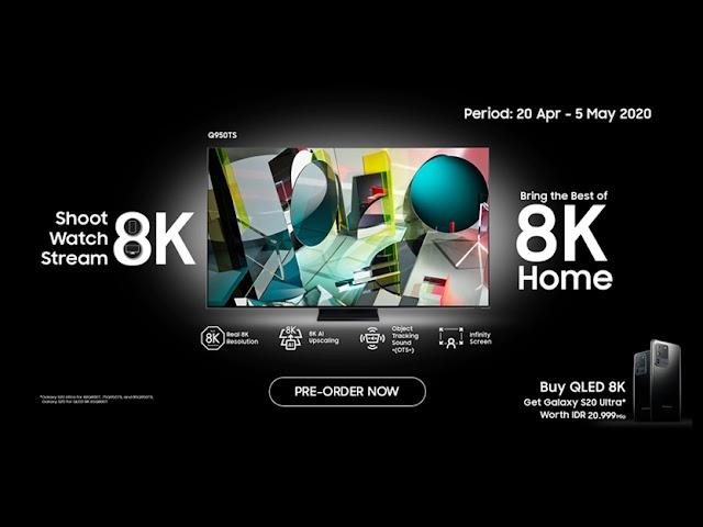 Samsung QLED 8K TV,  KombinasiTeknologi Layar Canggih dengan Fitur Cerdas