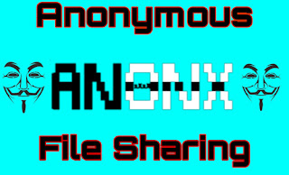 anonymous file sharing using anonx