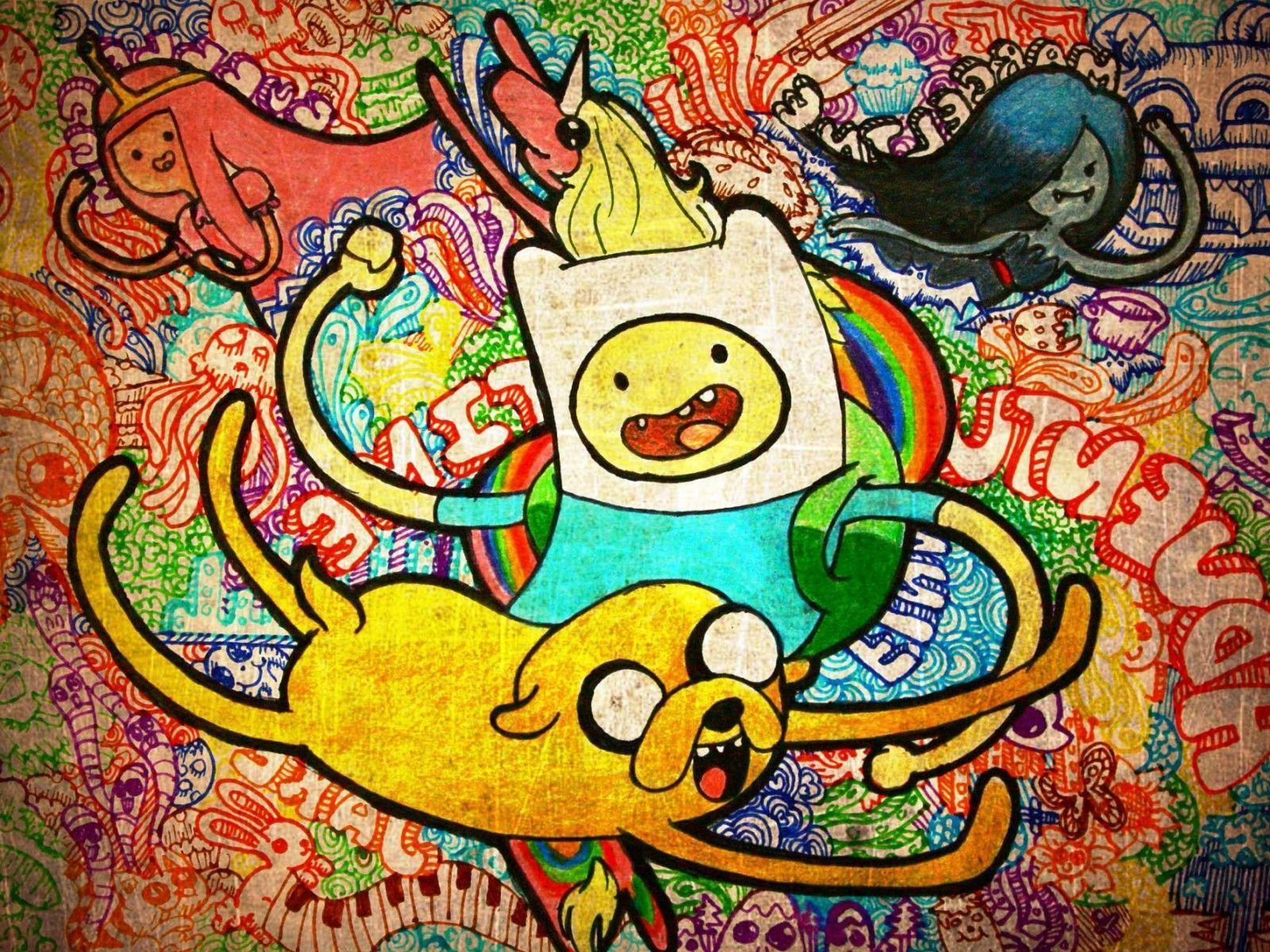 epic adventure time wallpapers HD