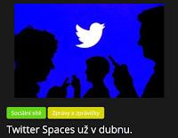 Twitter Spaces už v dubnu. - AzaNoviny.eu