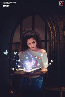 adobe photoshop cc 2020 manipulation tutorial | magic book |yzcreation 2020 |