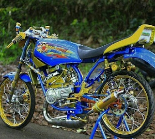 bengkel modifikasi Yamaha RX King