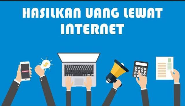 4 Cara paling mudah untuk menghasilkan uang dari internet