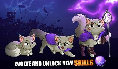 pada kesempatan kali ini admin akan membagikan sebuah game mod apk terbaru yang bergenre  Castle Cats Mod Apk v2.0.1 (Unlimited Gold/Gems)