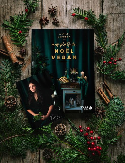 Marie Laforêt, 'Mes plats de Noël Vegan' (livre)