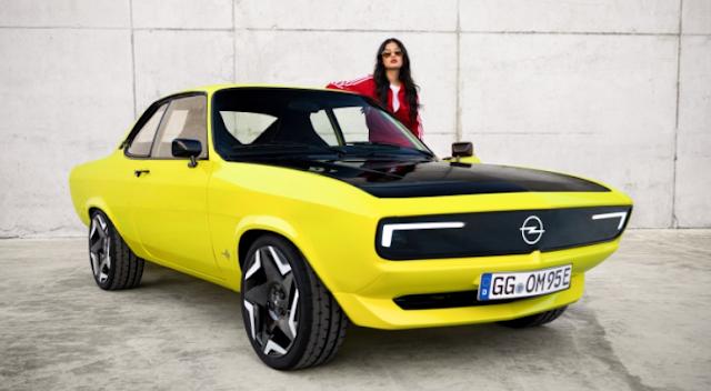 Opel Manta electric